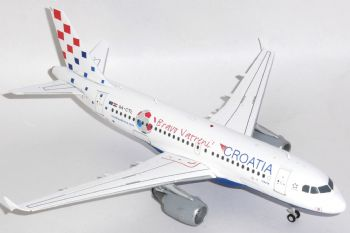 Airbus A319 Croatia Airlines Diecast Metal Collectors Model Scale 1:200 XX2143 E